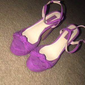 Pink Fuchsia Forever 21 Heels